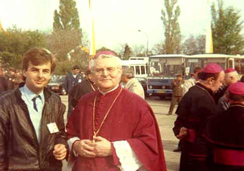 S arcibiskupom Sokolom vo Vajnoroch.