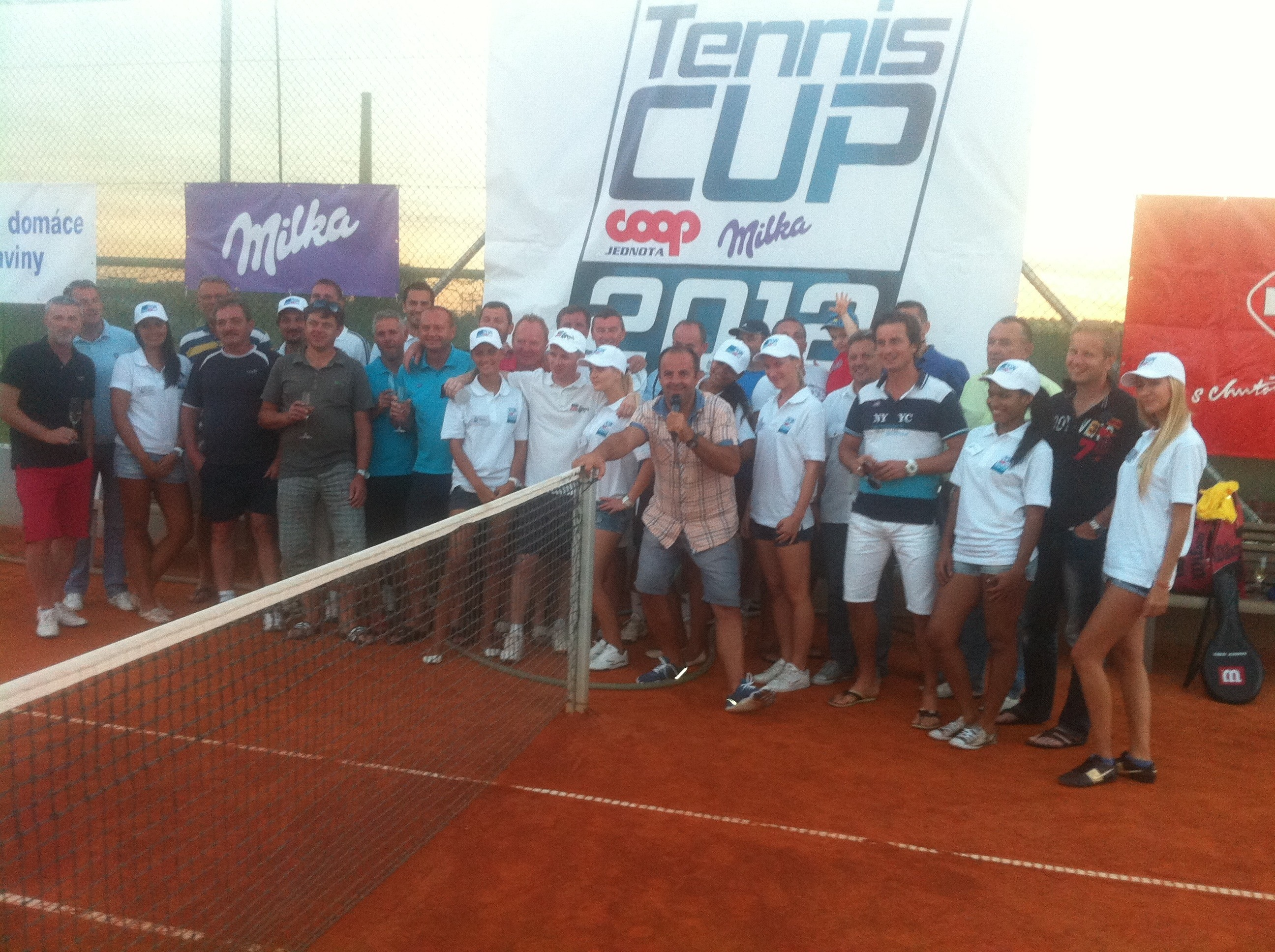 Tenis cup Coop Jednota Slovensko 2012 v hoteli Empire. 28. August, 2012. Trnava.
