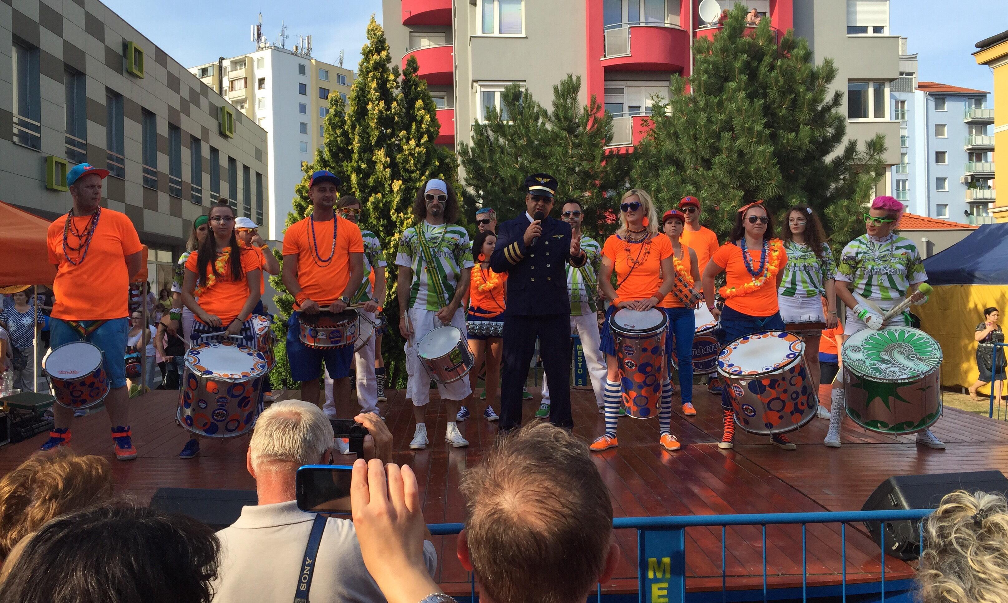 19.rocnik najvacsieho karnevalu na Slovensku. 26.jun.2015. Senec