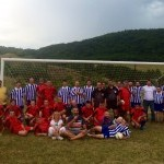 Raztocky sviatok - futbalovy turnaj. 5.jula.2014.Raztoka.