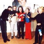 Krst CD Richarda Sachera v reštaurácii YM-CA.