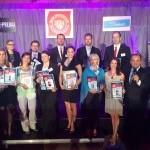 Slávnostné odovzdavanie oceneni Volba spotrebitelov Najlepšia novinka 2014 v Double Tree by Hilton. 24.júna.2014. Bratislava.