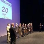 20 rokov spoločnosti Nitrazdroj v divadle Andreja Bagara. 23.novembra.2014. Nitra.