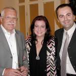 S pánom prezidentom českej republiky Václavom Klausom a Deanou Jakubiskovou