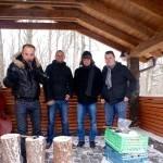 Regionalna zabijačka hotel Zochova chata. Sutaž Zabi svoje prasiatko. 24.januar.2015.Modra.