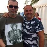 50.roćník festivalu Ćervenik. S Richardom Mullerom. 7.augusta.2015. Červenik.