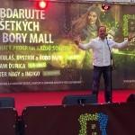 Mikulaš v novootvorenom nakupnom centre Bory mall. 6.december.2014.Bratislava.