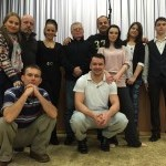 Team Vtipnejsi vyhrava. Danica Jurčova, Karin Haydu, Oldo Hlavačeka a další. 27.december.2014.Hurbanovo.