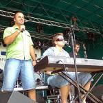 Na Skalica Musicfeste vystúpila aj skupina Bu*hví, za klávesami Ondřej Brzobohatý. 4. ročník Skalica Music Fest 28.6. 2008.