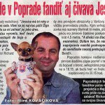 Korzár, máj 2004: Slovenským hokejistom bude v Poprade fandiť aj čivava Jessica