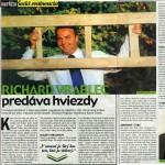 Richard Vrablec predáva hviezdy.