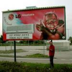 Reklama na LG klimatizácie