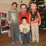 Na návšteve s Mikulášom v škôlkach v Šali som objavil deti ako z reklamy... 6.12.2005