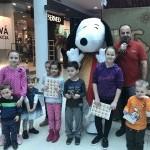 Čitanie so Snoopym v OC Aquario. 19.marec.2017. Nove Zamky.