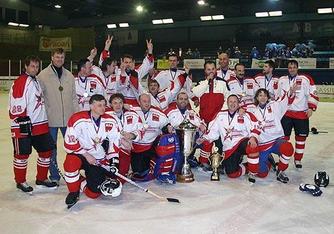 MS amatérov a veteránov v ľadovom hokeji 2004.Podujatie sa konalo od 16.do 19.12 v Liptovskom Mikuláši.Majstrom SR sa stali hráči Banskej Bystrice.