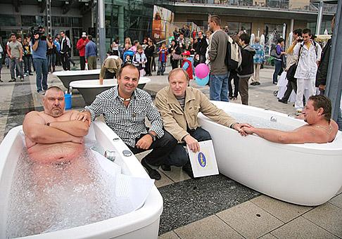 Rekordné leto s Markízou v Polus City Center. 11.9.2010.