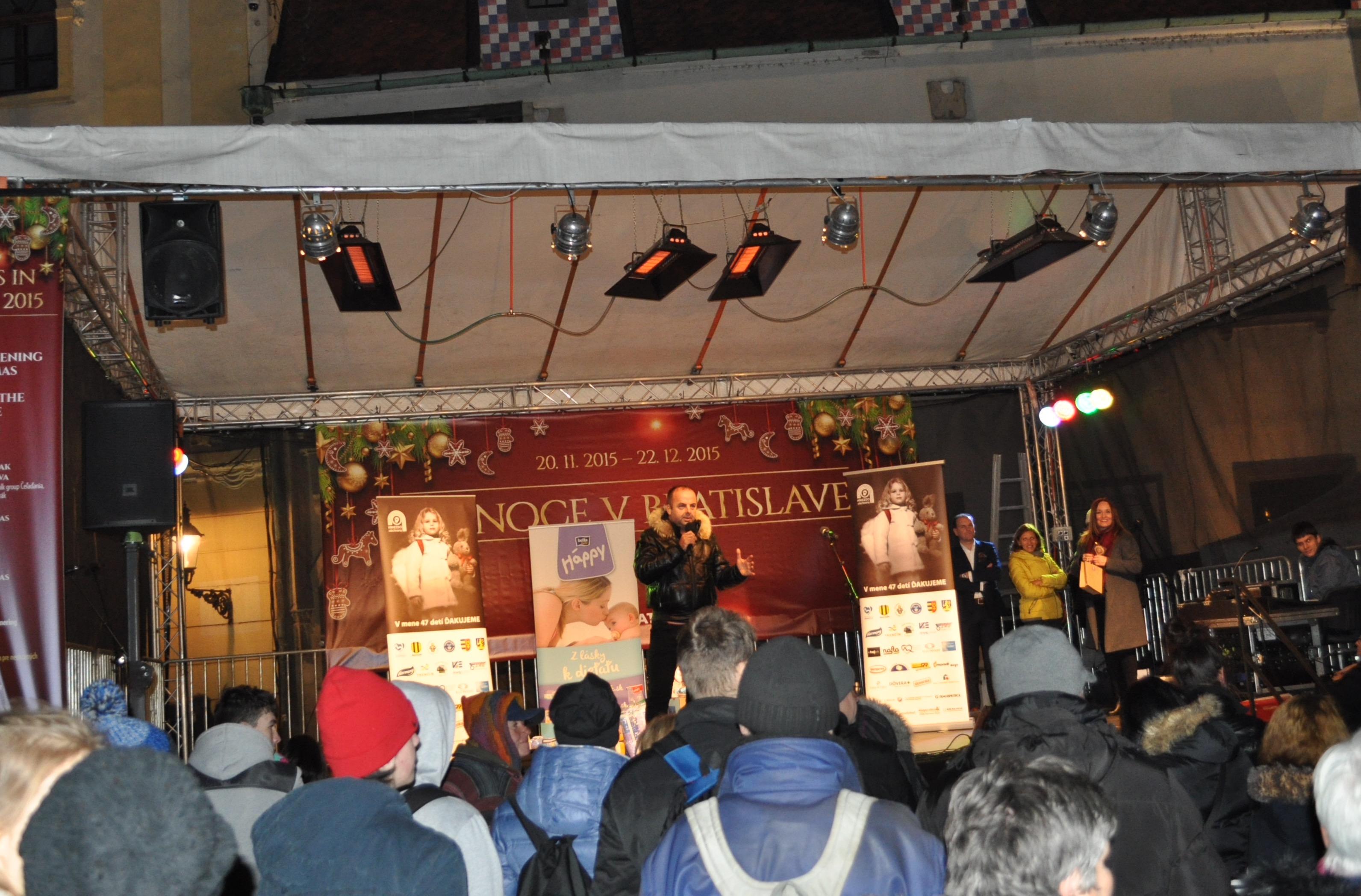 Vianocne trhy 2015. 27.novembra 2015. Bratislava