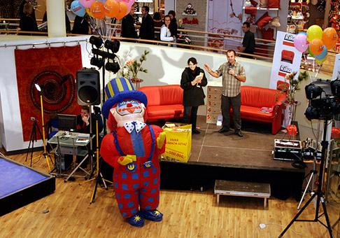 Otvorenie obchodného domu s nábytkom KIKA v Bratislave 17.11.2005.