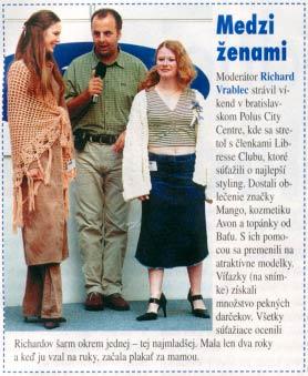 Prekvapenie, september 2002: Medzi ženami