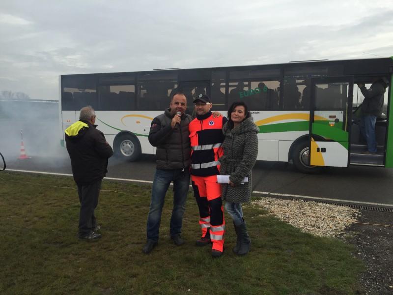65.rokov verejnej autobusovej dopravy na Slovakiaringu. 7.novembra.2014. Orechova Poton.