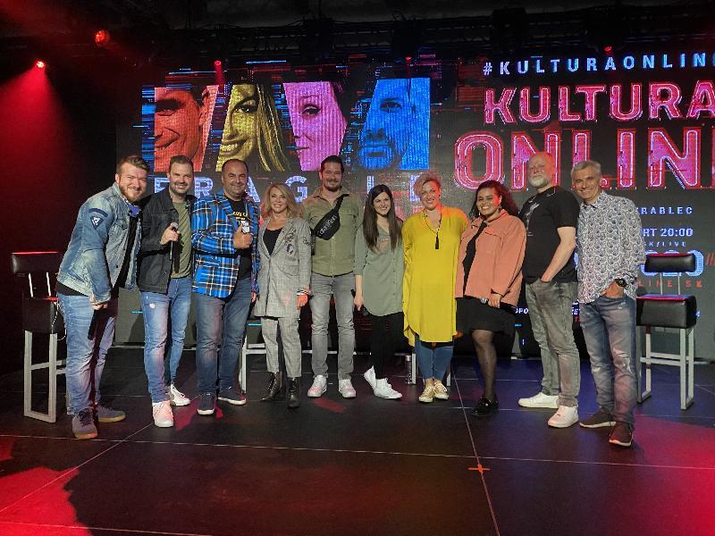 Online interaktivny koncert FRAGILE. Na podiu aj so Zdenkou Studenkou. 16.maja 2020. Bratislava