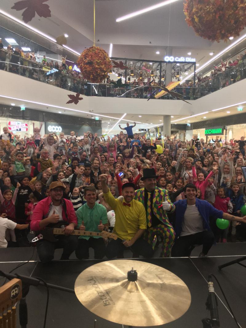 Telekom detsky festival v nakupnom centre Eperia Presov. 24.november 2019