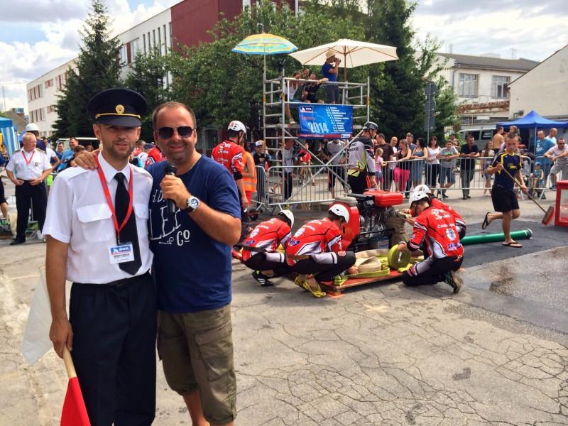 IKHL - hasičska liga o putovny pohar primatora mesta Vrbove. 6.júl.2014.Vrbove.