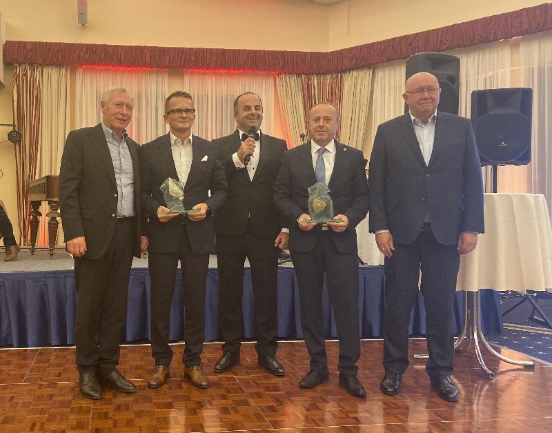 Zvaz obchodu Slovenskej republiky odovzdal ocenenia najlepsim obchodnikom za rok 2019, Merkurov rad. Hotel Bellevue, Smokovec. 20.november 2019