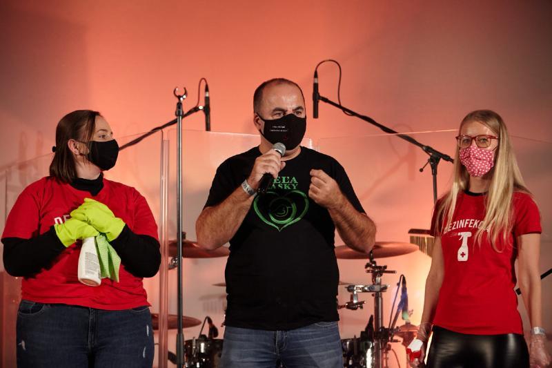 Podujatie Veľa lásky so skupinami Iconito a Noname v Košiciach. 25.november 2020 Košice.