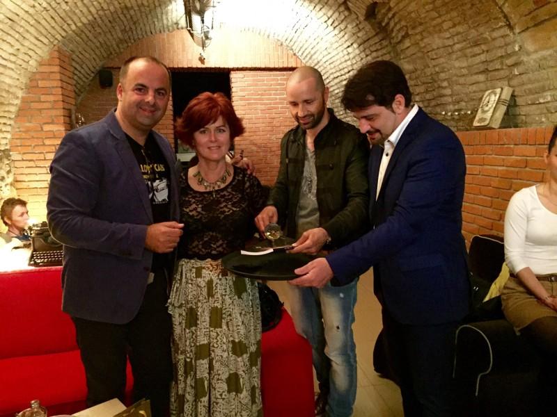 Krst knihy Evy Bacigalovej - Rok anazonky. 29.april.2015. Bratislava