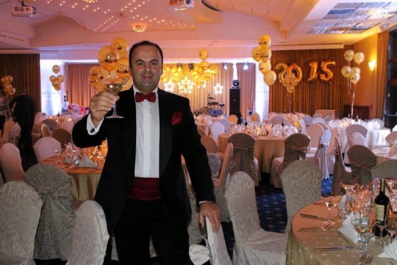 Fantasticky silvester v hoteli Kaskady. 1.januar.2015. Sliač.