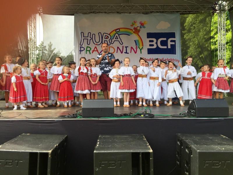 3.rocnik podujatia Hura prazdniny v parku SNP Banska Bystrica. 27.jun.2015.