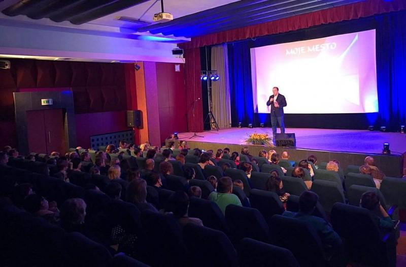 Vyhodnotenie sutaže Moje mesto v Novom Smokovci, 70 rokov založenia Vysokych Tatier. 18.marca.2017 Smokovec.
