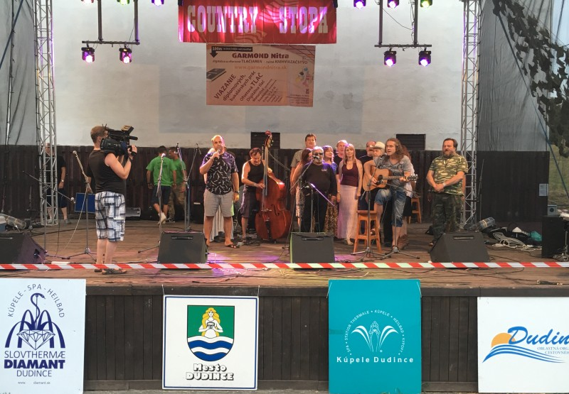 14.ročník festivalu Country stopa. 8.-9.júl 2016 Dudince.