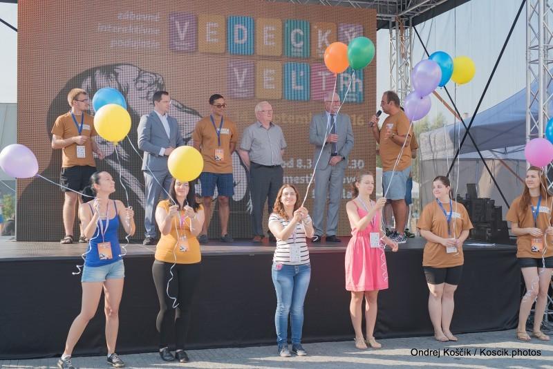 Slávnostné otvorenie Vedeckeho veltrhu pred Euroveou. 14.september, 2016 Bratislava